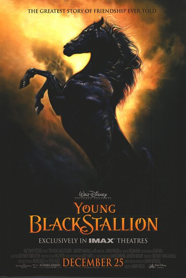 Young Black Stallion Original Movie Poster 27 X40 Double Sided