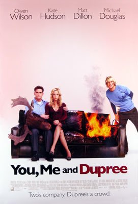 You, Me &Dupree Original International Movie Poster 27 X40 Double Sided