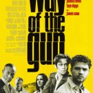 Way of the Gun Original Movie Poster 27 X40 Double Sided