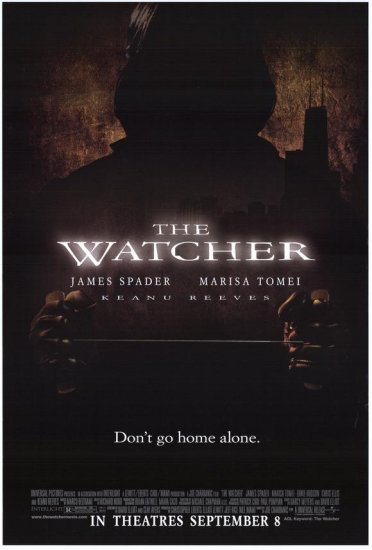 Watcher Original Movie Poster 27 X40 Single Sided