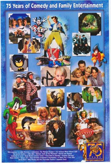 Warner 75TH Anniversary Ver A Original Movie Poster 27X40
