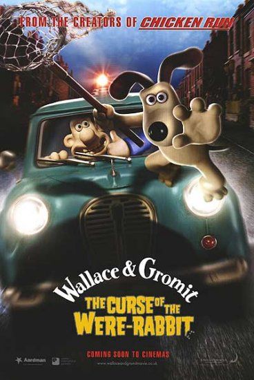 Wallace & Gromit Advance B Original Movie Poster 27 X40 Double Sided