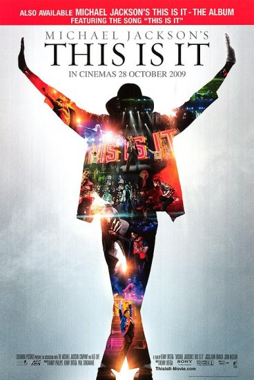 This Is It Michael Jackson Regular Original Movie Poster 27 X40 Double Sided