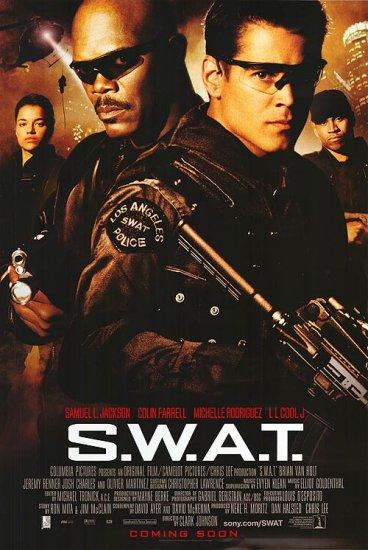 Swat International Original Movie Poster 27 X40 Double Sided