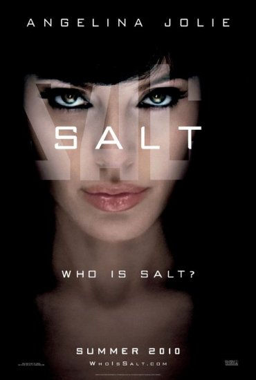Salt Advance Original Single Sided Movie Poster 27x40