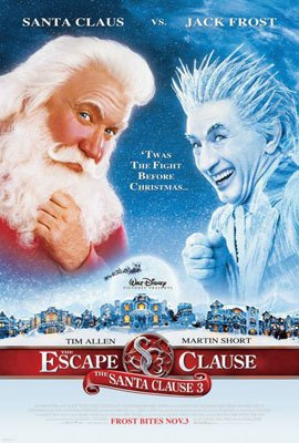 Santa Clause 3 : The Scape Regular Original Double Sided Movie Poster 27x40