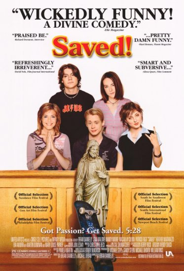 Saved Version B Original Double Sided Movie Poster 27x40