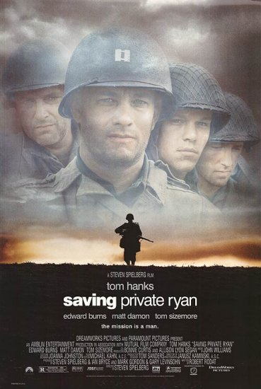 Saving Private Ryan Final Single Sided Orig Movie Poster 27X40