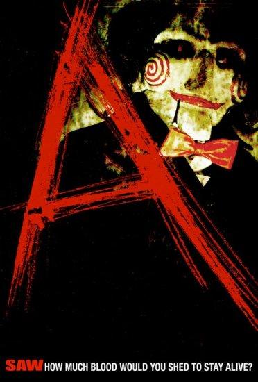 "Saw ""A"" Original Single Sided Movie Poster 27x40"