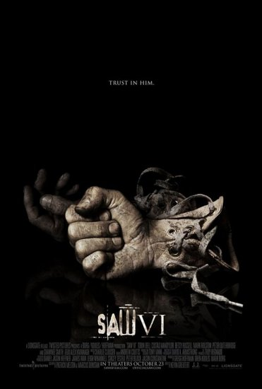 Saw VI Original Double Sided Movie Poster 27x40