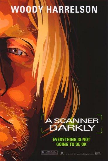 Scanner Darkly W. Harrelson Original Single Sided Movie Poster 27x40