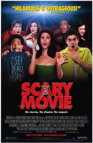 Scary Movie Original Single Sided Movie Poster 27x40
