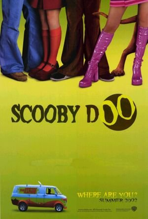 Scooby Doo Advance (Green) Original Double Sided Movie Poster 27x40