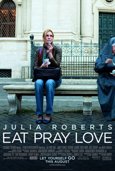 Eat Pray Love Regular Original Double Sided Movie Poster 27x40