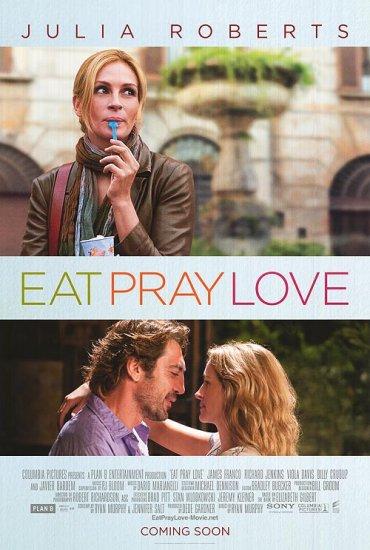 Eat Pray Love International Original Double Sided Movie Poster 27x40