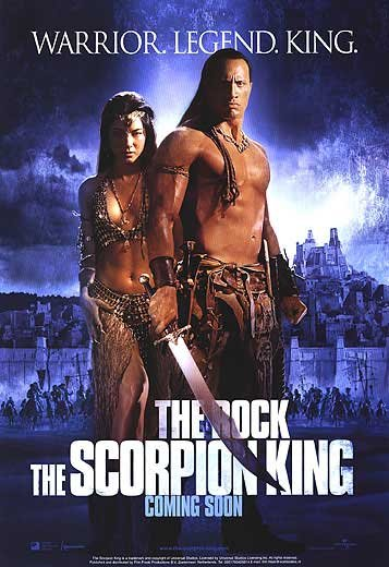 Scorpion King Advance Original Double Sided Movie Poster 27x40