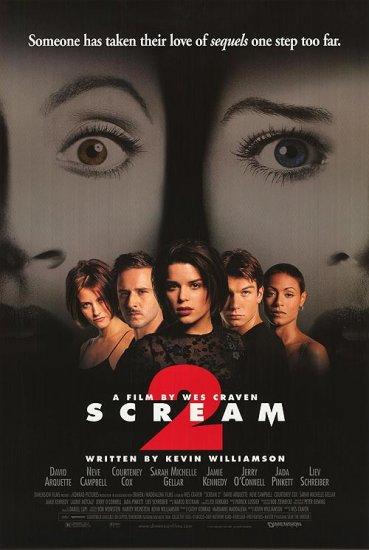 Scream 2 Original Single Sided Movie Poster 27x40