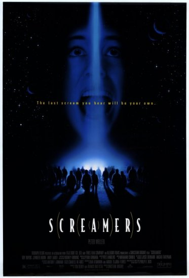 Screamers Original Double Sided Movie Poster 27x40