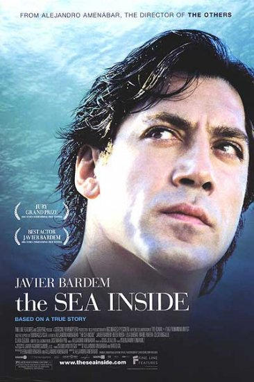 Sea Inside Original Single Sided Movie Poster 27x40