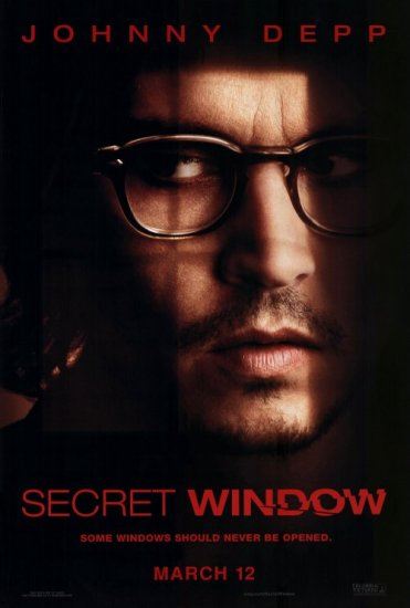 Secret Window Advance Original Single Sided Movie Poster 27x40