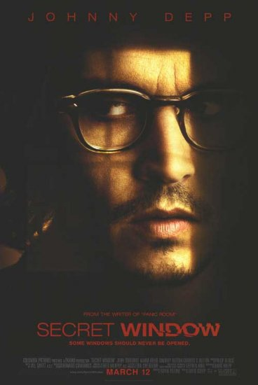 Secret Window Original Double Sided Movie Poster 27x40