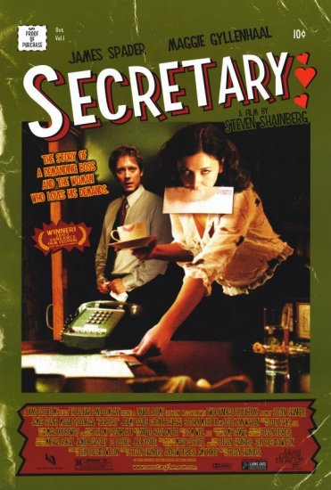 Secretary Final Original Single Sided Movie Poster 27x40