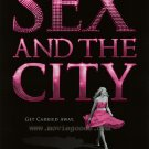 Sex and the City Advance Original Double Sided Movie Poster 27x40
