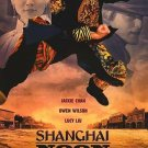 Shanghai Noon International Original Movie Poster Double Sided 27x40