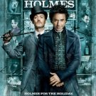 Sherlock Holmes fINAL Original Movie Poster Double Sided 27x40