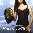 """Shoot """"Em Up (Bellucci) Original Movie Poster Double Sided 27x40"""