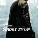 "Shoot ""Em Up (Clive Owen) Original Movie Poster Double Sided 27x40"