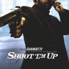 "Shoot ""Em Up (Paul Giamatti) Original Movie Poster Double Sided 27x40"