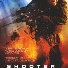 Shooter Version B Original Movie Poster Double Sided 27x40
