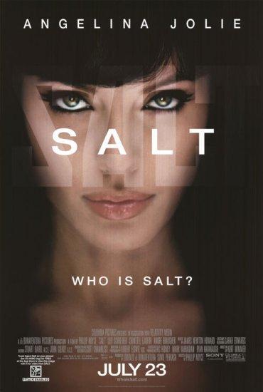 Salt Regular Original Double Sided Movie Poster 27x40