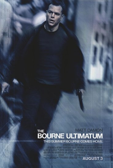 Bourne Ultimatum Final Original Movie Poster Double Sided 27x40