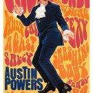Austin Powers International Man of Mystery Original Single Sided Movie Poster 27x40