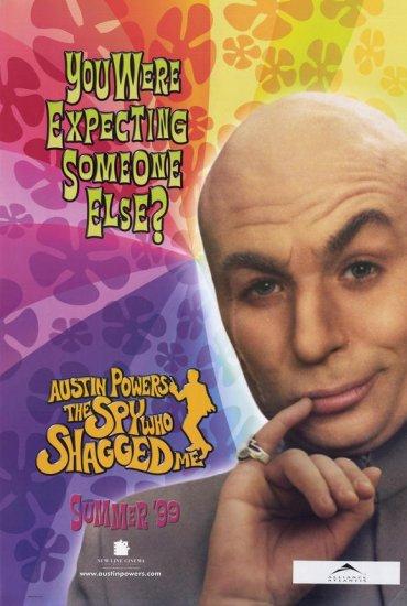 Austin Powers The Spy Who Shagged Me Version B Original Single Sided Movie Poster 27x40