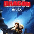 How to Train Your Dragon Advance Ver B  Original Movie Poster  Single Sided 27 X40