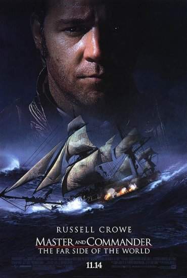 Master and Commander Original Movie Poster Single Sided 27X40