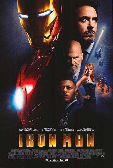 Iron Man Regular Single Sided Original Movie Poster 27x40