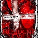 Resident Evil Regular Original Movie Poster  Double Sided 27 X40