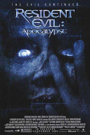 Resident Evil Apocalypse Version B Original Movie Poster  Single Sided 27 X40