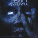 Resident Evil Apocalypse Version B Original Movie Poster  Single Sided 27 X40