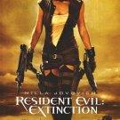 Resident Evil Extinction Regular Original Movie Poster Double Sided 27 X40
