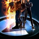 Fantastic Four Version B Double Sided Movie Poster Original 27x40