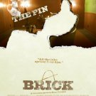 Brick (Pin) Movie Poster Original Movie Poster Double Sided 27x40