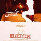 Brick (Laura) Movie Poster Original Movie Poster Double Sided 27x40