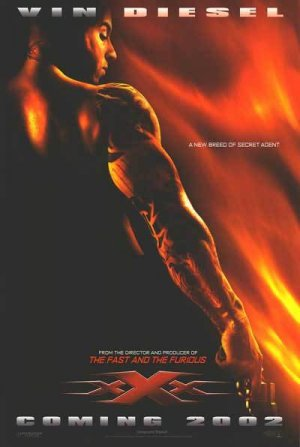 XXX Adv (Coming 2002) Movie Poster 27X40 Orig Dbl Sided