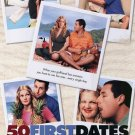 50 First Dates International Original Movie Poster Double Sided 27X40