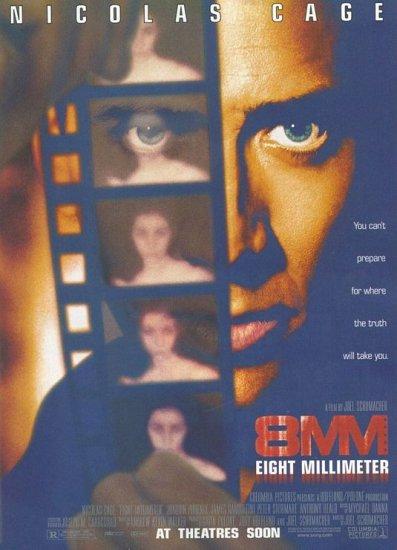 8MM Original Movie Poster 27 X40 Single Sided